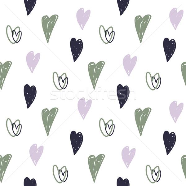 Corações dia dos namorados lata usado Foto stock © mcherevan