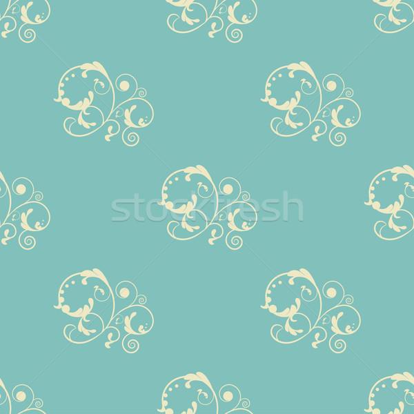 シームレス ダマスク織 カーペット パターン ヴィンテージ 印刷 ストックフォト © mcherevan