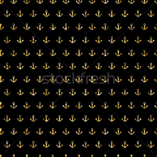 Vektör altın altın parıltı parlak Stok fotoğraf © mcherevan
