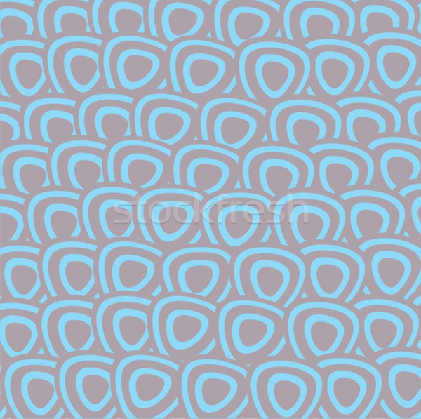 Seamless pattern with hand drawn  squares Stock photo © mcherevan