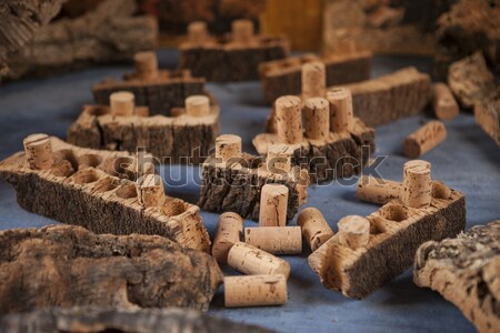 Dugó fa bordugó ugatás bor háttér Stock fotó © mcherevan