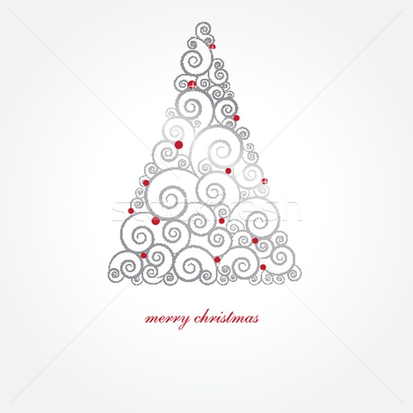 Stok fotoğraf: Noel · noel · ağacı · ağaç · dizayn · arka · plan · Yıldız