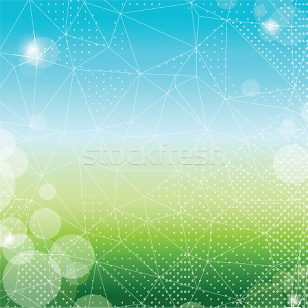 Bio вектора экологический символ дизайна Сток-фото © mcherevan