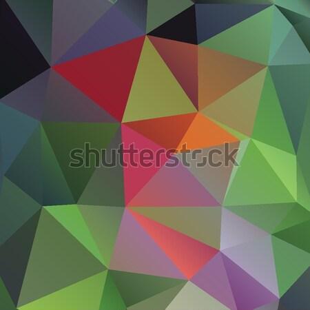 Colorato rosa abstract geometrica basso stile Foto d'archivio © mcherevan