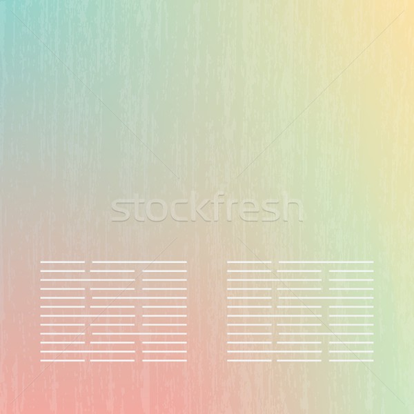 Abstract soft  banners set. Purple, green, blue, yellow, pink pastel colorful background. Stock photo © mcherevan