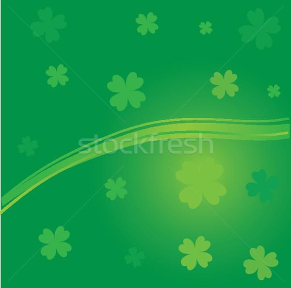 Día hojas hoja espacio planta tarjeta Foto stock © mcherevan
