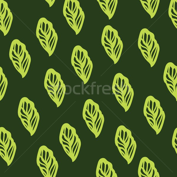 Végtelen minta levelek jó ötlet textil csomagolás Stock fotó © mcherevan