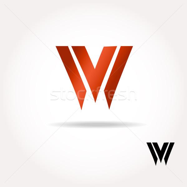 List jasne kolory logo łatwe Zdjęcia stock © mcherevan