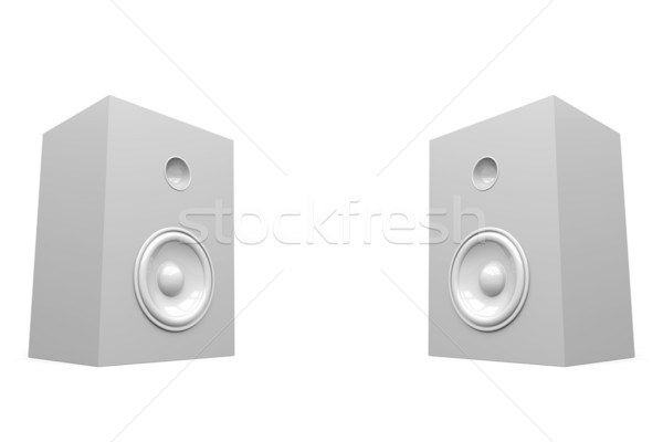 Stereo Speakers Stock photo © Mcklog