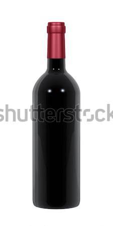 Stock photo: Wine Bottle