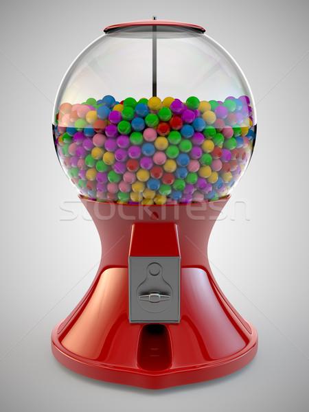Gumball Machine Stock photo © Mcklog