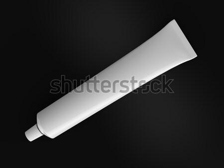 általános fogkrém render izolált cső háttér Stock fotó © Mcklog
