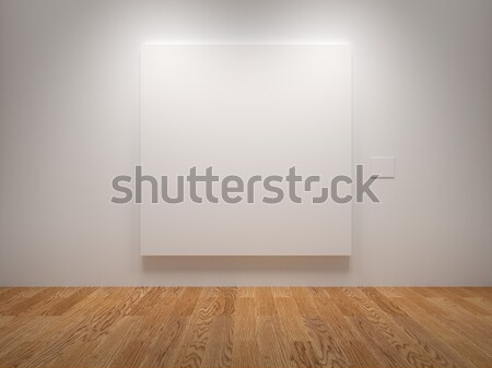 Blank Canvas Stock photo © Mcklog