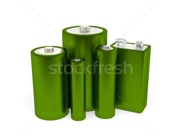 зеленый оказывать группа различный черный Сток-фото © Mcklog