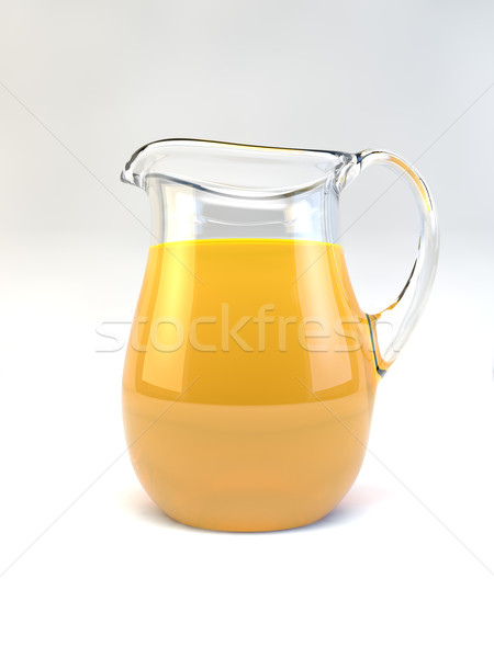 Orange Juice Beverage Jug Stock photo © Mcklog