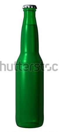 зеленый фотография изолированный вечеринка пива Сток-фото © Mcklog