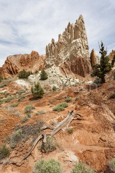 Foto stock: Belo · formação · rochosa · Utah · Estados · Unidos · natureza