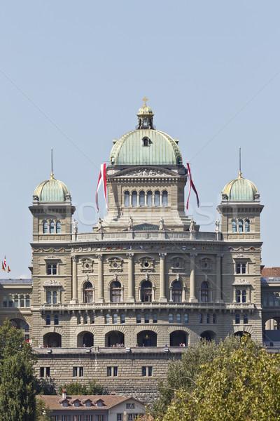 Hükümet Bina federal saray İsviçre Stok fotoğraf © mdfiles