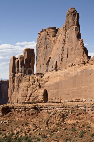 南西 米国 岩石層 公園 ユタ州 米国 ストックフォト © mdfiles
