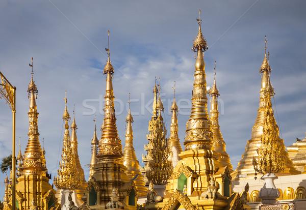 塔 ビルマ 東南アジア 空 建物 ストックフォト © mdfiles