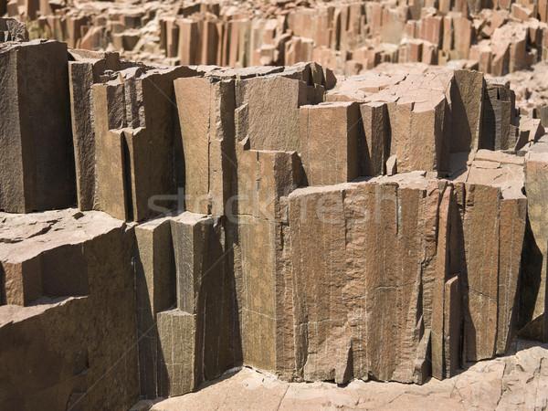 Orgel Rohre Basalt Felsen Region Stock foto © mdfiles