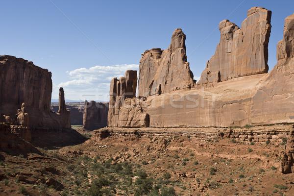 Délnyugat USA sziklaformáció park Utah Egyesült Államok Stock fotó © mdfiles
