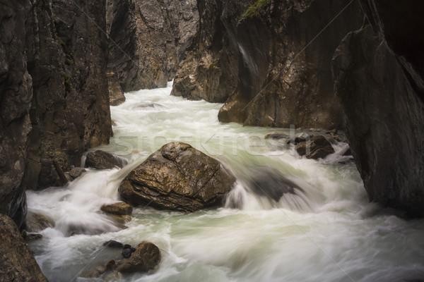 Unesco dünya miras alpler İsviçre Stok fotoğraf © mdfiles