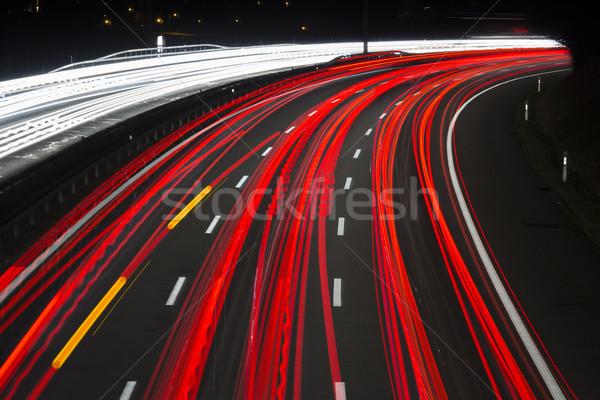 Hızlandırmak banliyö yol hızlı Stok fotoğraf © mdfiles