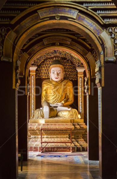 Thanboddhay Pagoda Stock photo © mdfiles