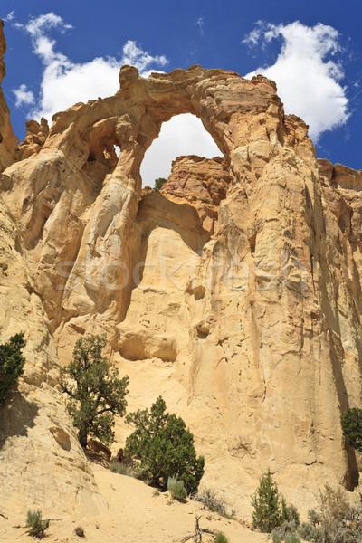 Kemer doğal kumtaşı çift Utah ABD Stok fotoğraf © mdfiles