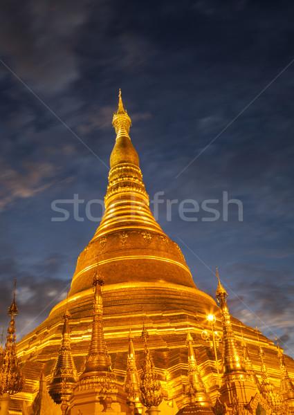 Shwedagon Stock photo © mdfiles