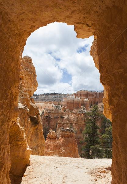 Kanyon park Utah Amerika Birleşik Devletleri doğa Amerika Stok fotoğraf © mdfiles