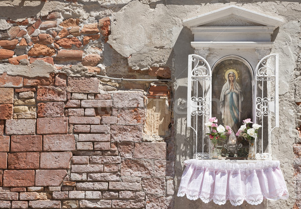 Küçük geçit Venedik İtalya Avrupa Stok fotoğraf © mdfiles