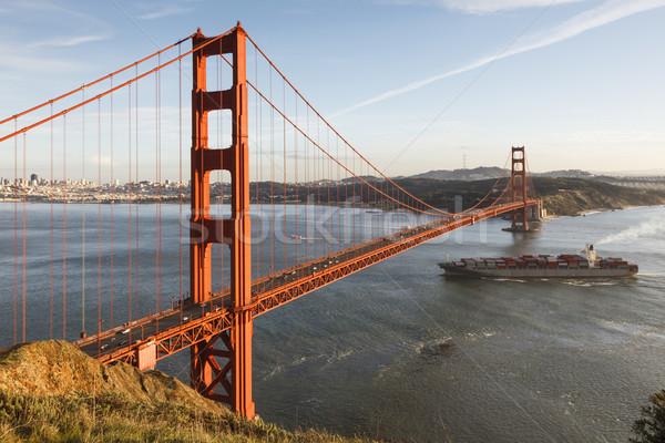 ゴールデンゲート ゴールデンゲートブリッジ カリフォルニア 米国 橋 ストックフォト © mdfiles
