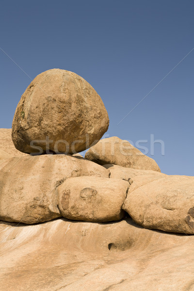 Balancing Boulder Stock photo © mdfiles