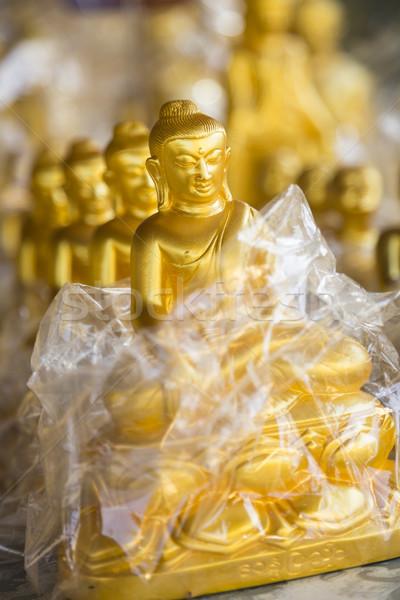 仏 クローズアップ 浅い フィールド ミャンマー ビルマ ストックフォト © mdfiles