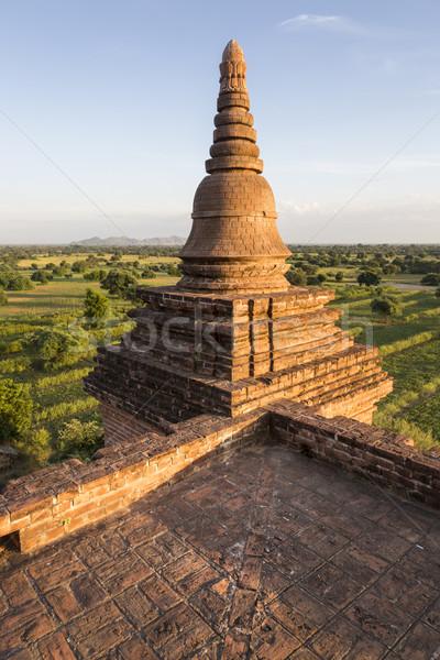 Pagode Mianmar birmânia sudeste da Ásia edifício Ásia Foto stock © mdfiles