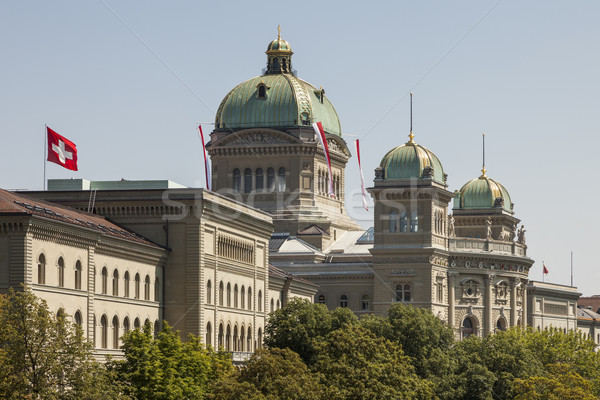 Parlamento Bina federal saray İsviçre mimari Stok fotoğraf © mdfiles