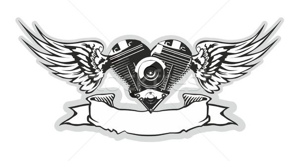 вектора прибыль на акцию сердце дизайна граффити скорости Сток-фото © mechanik
