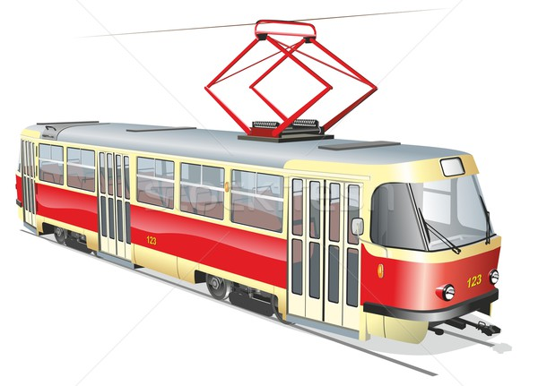Tram Stock photo © mechanik