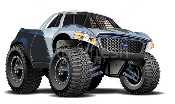 Vector Cartoon Buggy Stock photo © mechanik