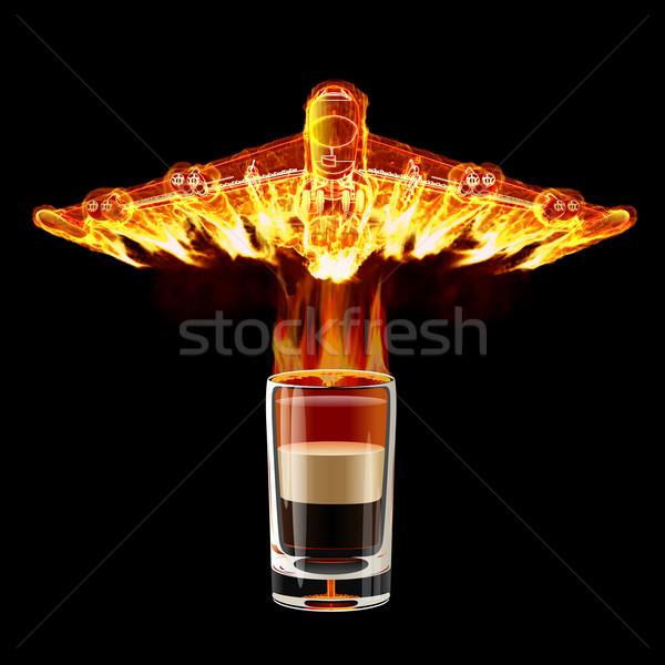 Shot cocktail Stock photo © mechanik