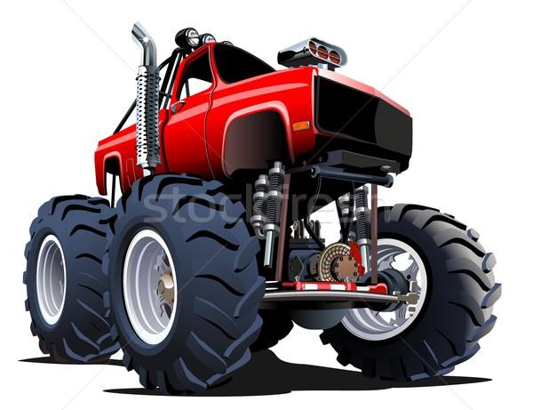 Cartoon Monster Truck Stock photo © mechanik