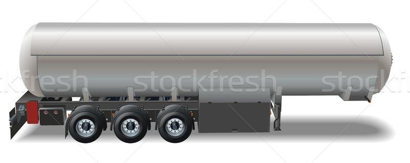 Vector tanker car Stock photo © mechanik