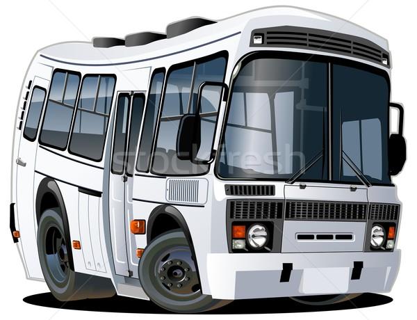 Vector cartoon bus Stock photo © mechanik