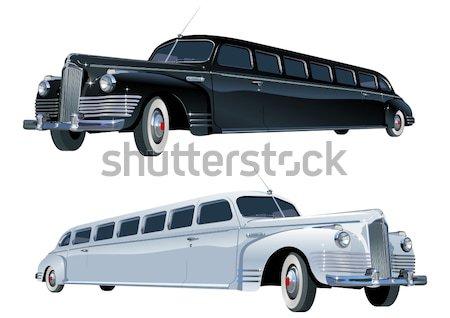 Vector eps8 auto kunst reizen schilderij Stockfoto © mechanik