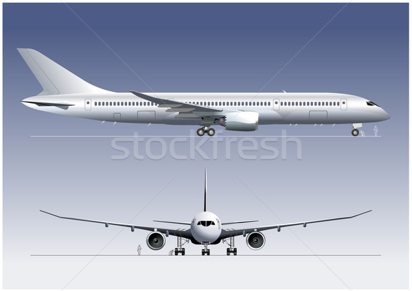 Boeing-787 DreamLiner Stock photo © mechanik