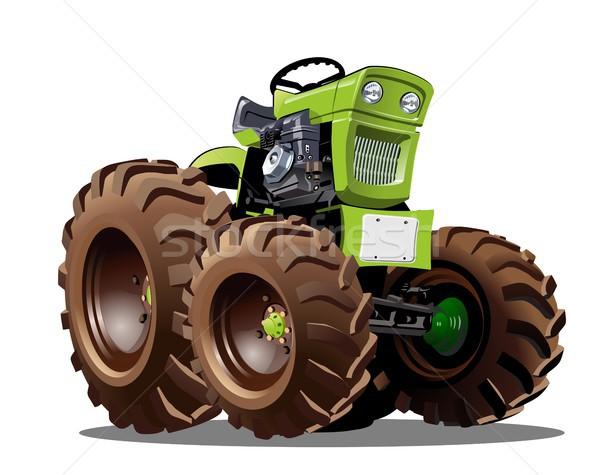 Vector Cartoon Tractor Stock photo © mechanik