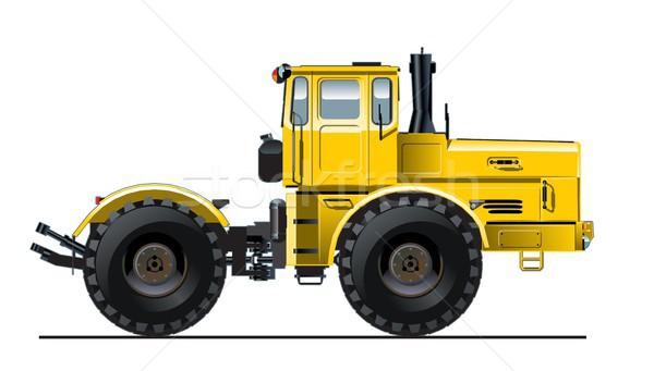 Vector Detailed Tractor Stock photo © mechanik