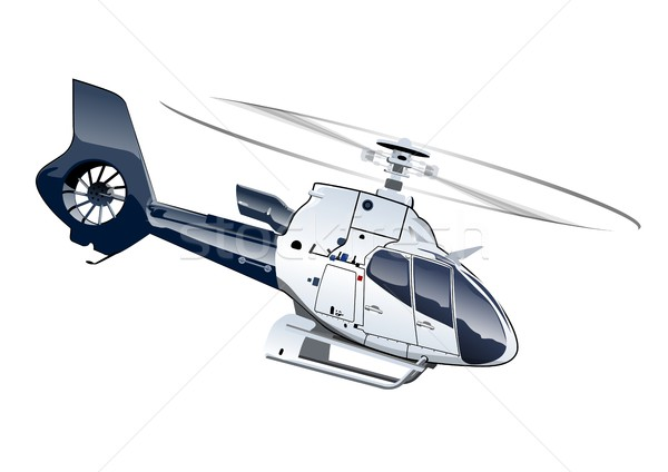 Cartoon helikopter vector eps10 groepen lagen Stockfoto © mechanik